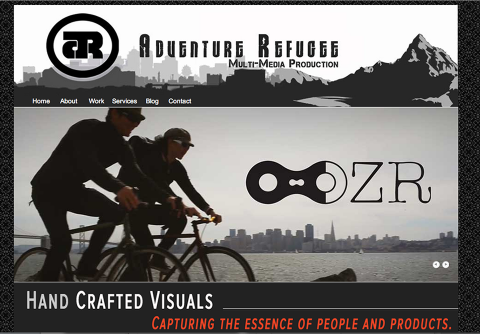 Adventure Refugee Multi-media Production site image for catanzaro creations