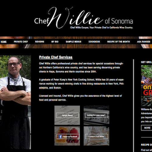 chef willie image for catanzaro creations