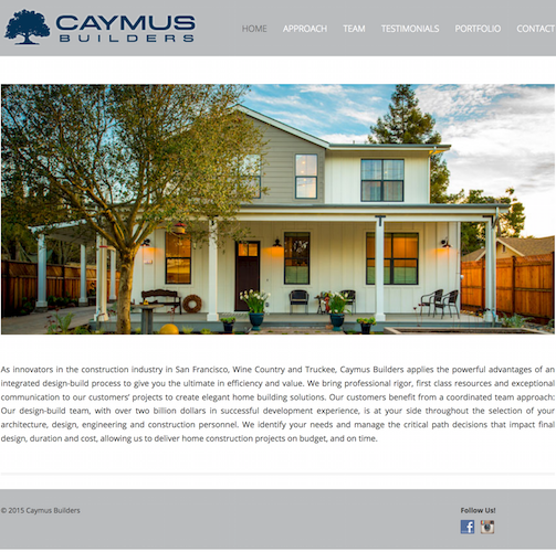caymus Builders catanzaro creations