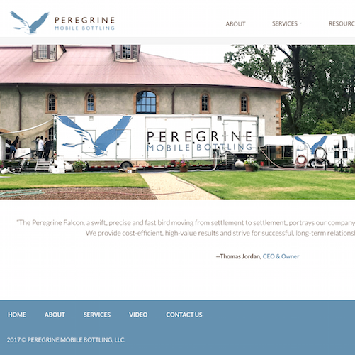 peregrine mobile bottling