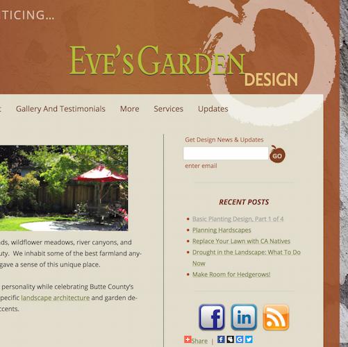 eves garden design