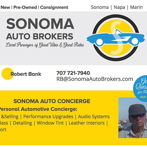 sonoma auto brokers